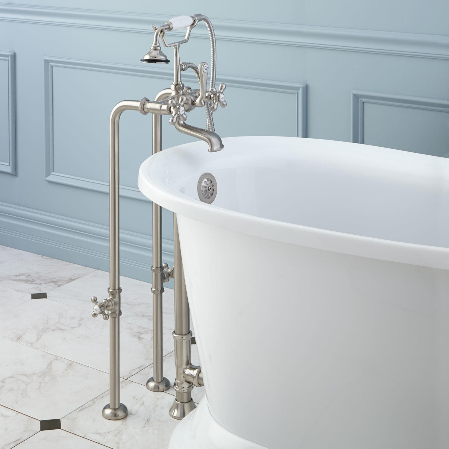 Freestanding Faucets For Clawfoot Tubs Faucet Ideas Site