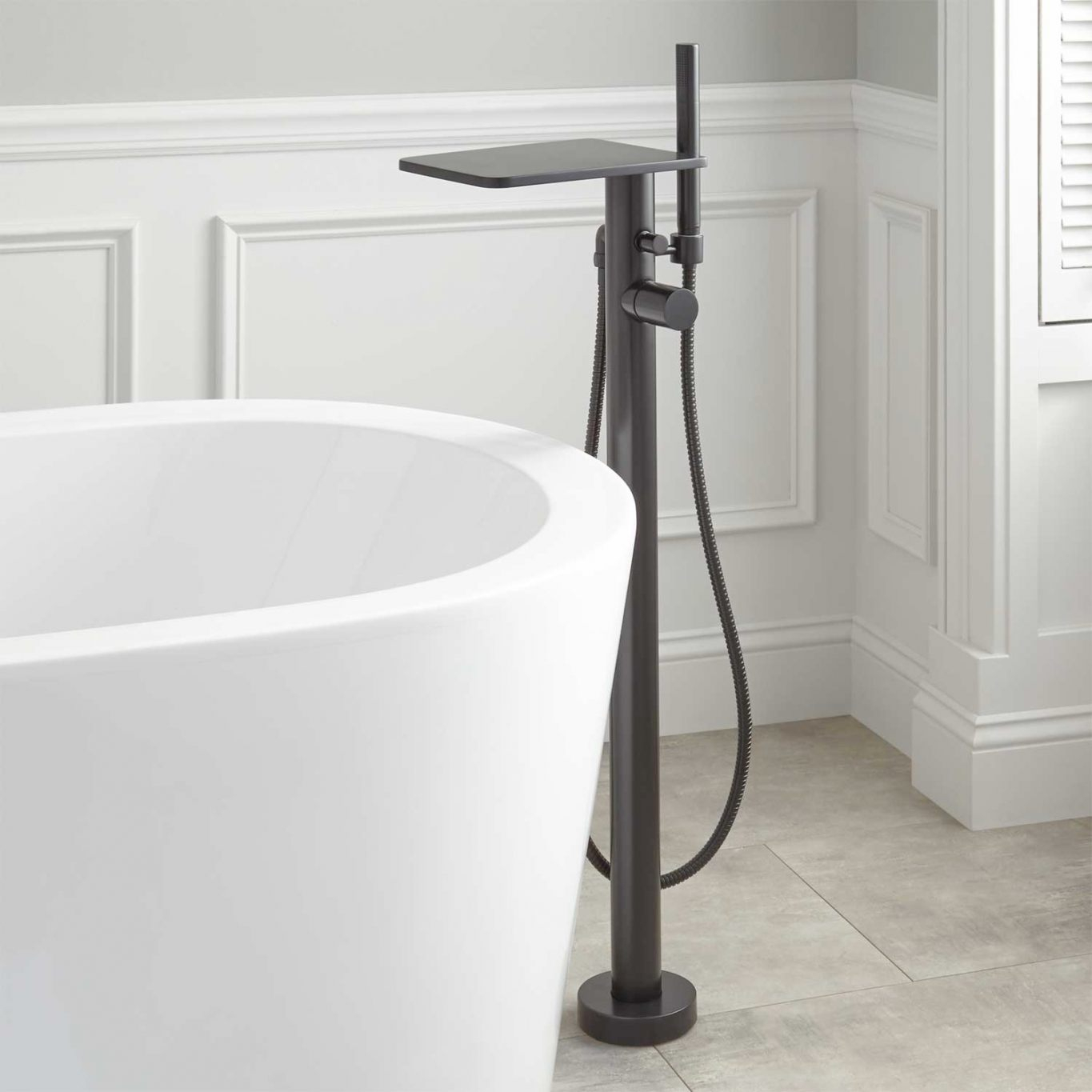 Superbe Knox Freestanding Tub Faucet Freestanding Bathtub Faucet 4 Within  Proportions 1365 X 1365