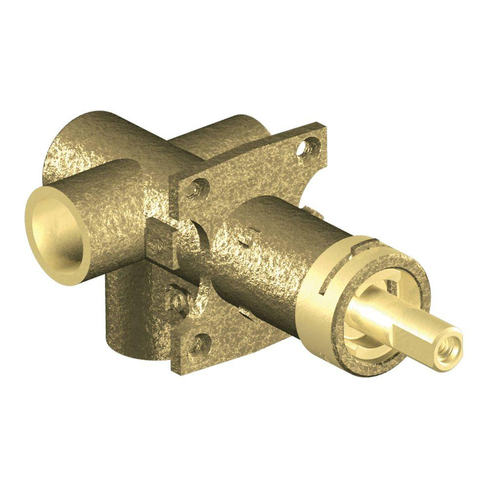 Moen Brass Rough In 2 Function Transfer Shower Valve 12 In Cc in measurements 1000 X 1000