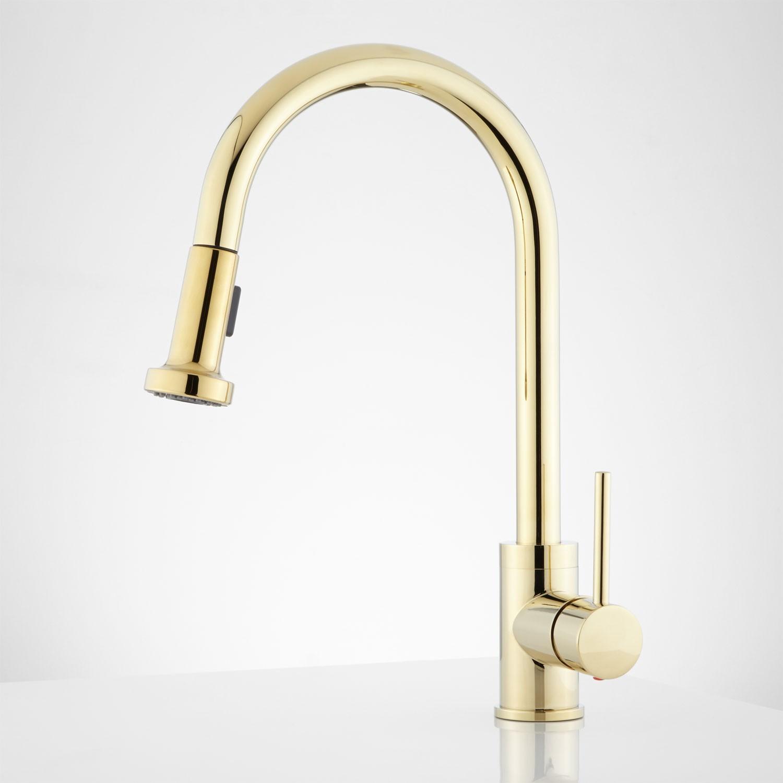 Gold Pull Down Kitchen Faucet Faucet Ideas Site
