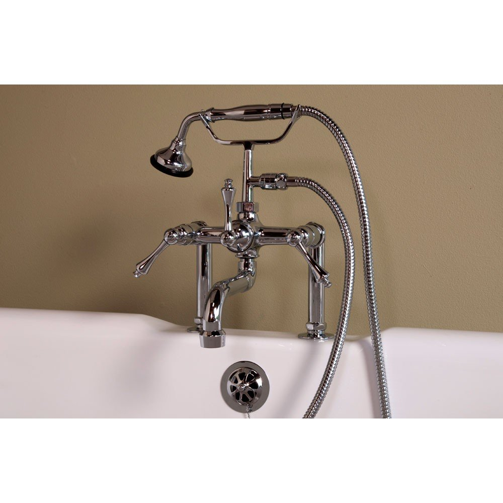 Strom Deck Mount Clawfoot Tub Faucet P1074c S Vintage Tub in size 1000 X 1000