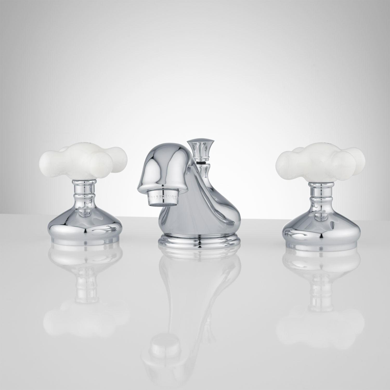 Porcelain Cross Handle Bathroom Faucets Faucet Ideas Site
