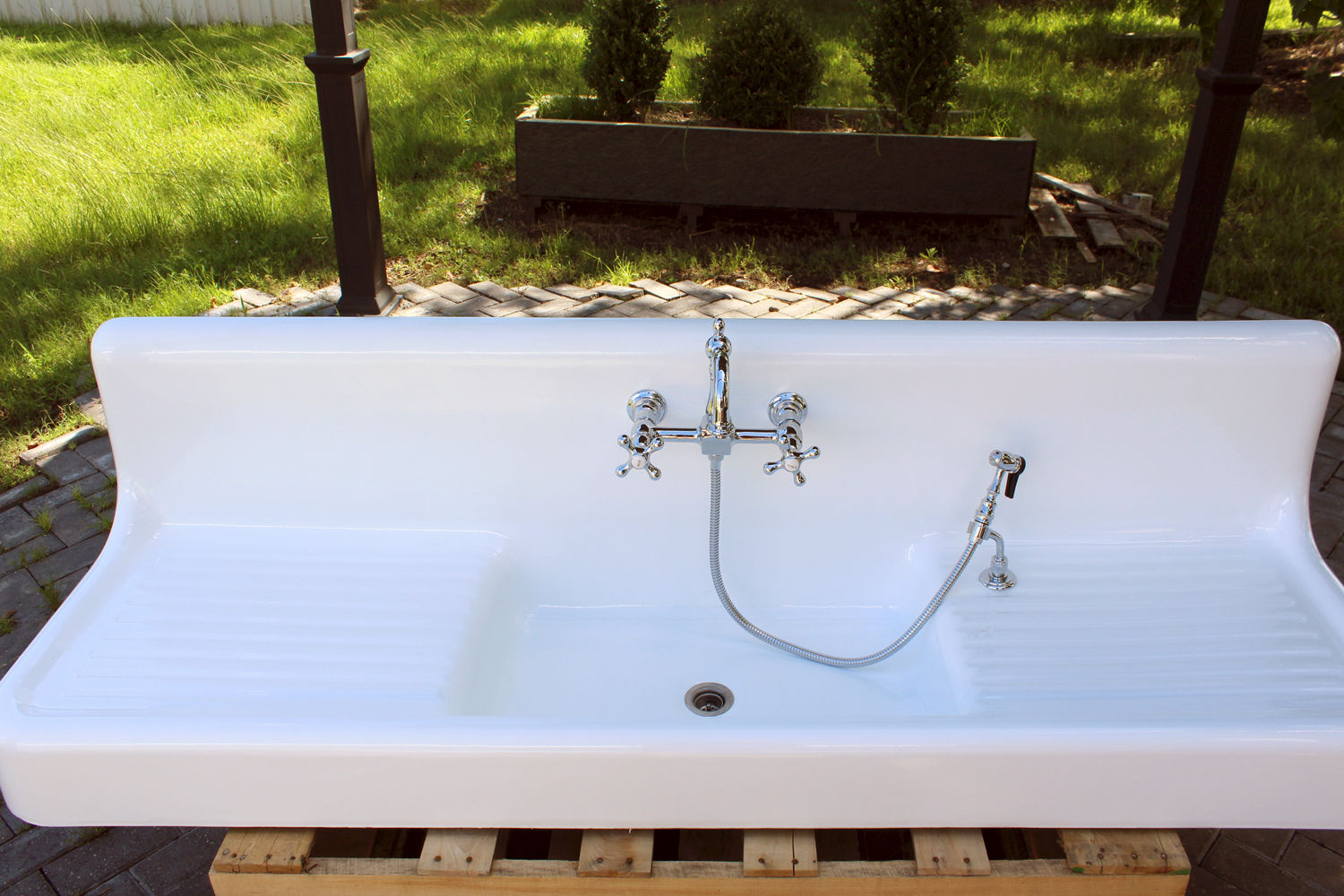 The Search For A Vintage Farmhouse Sink Domestic Imperfection pertaining to dimensions 1500 X 1000