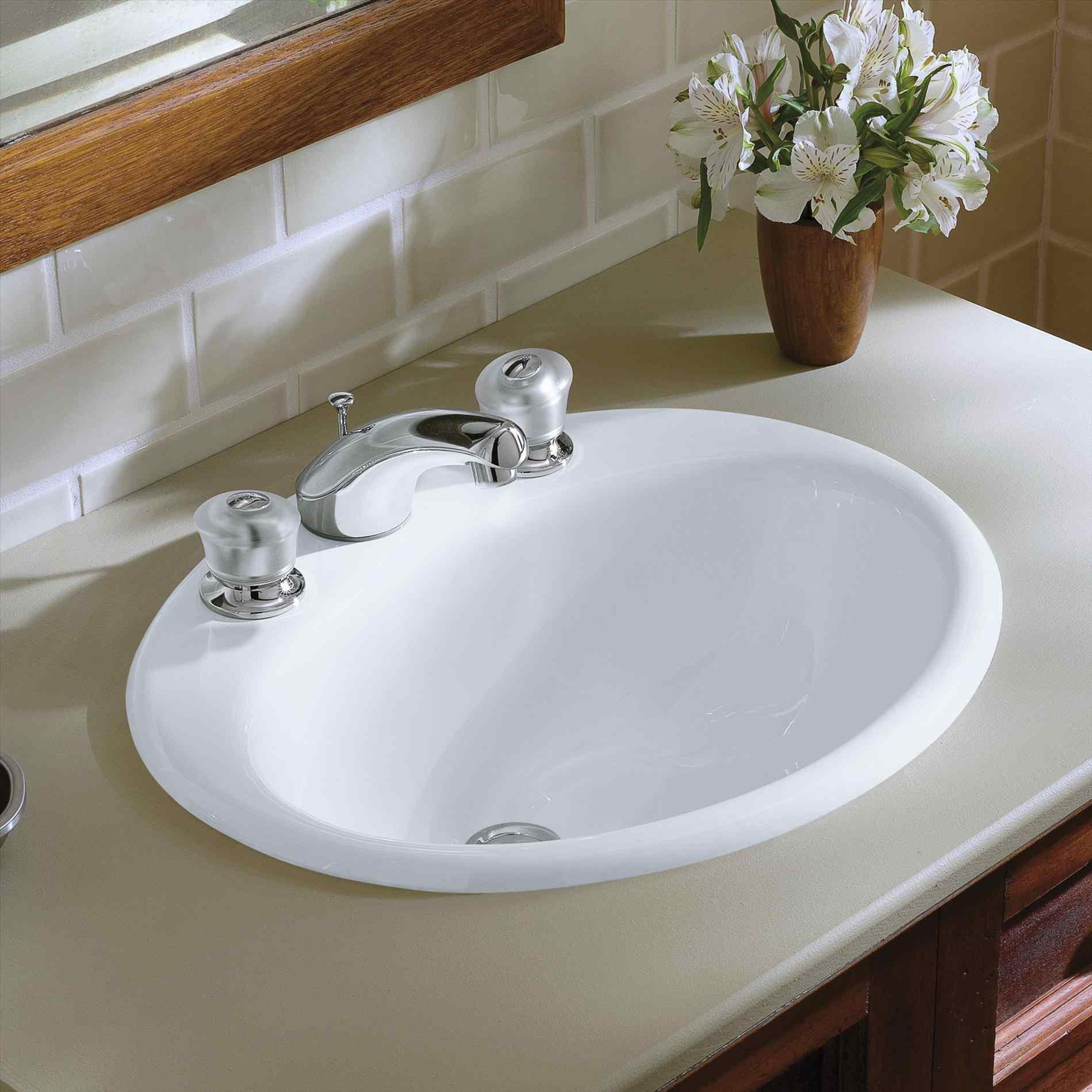 Undermount Bath Sink With Faucet Holes • Faucet Ideas Site