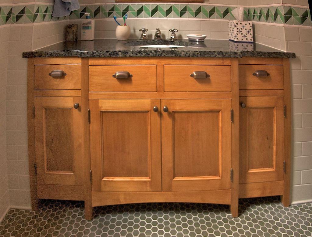 Maple Bathroom Furniture Faucet Ideas