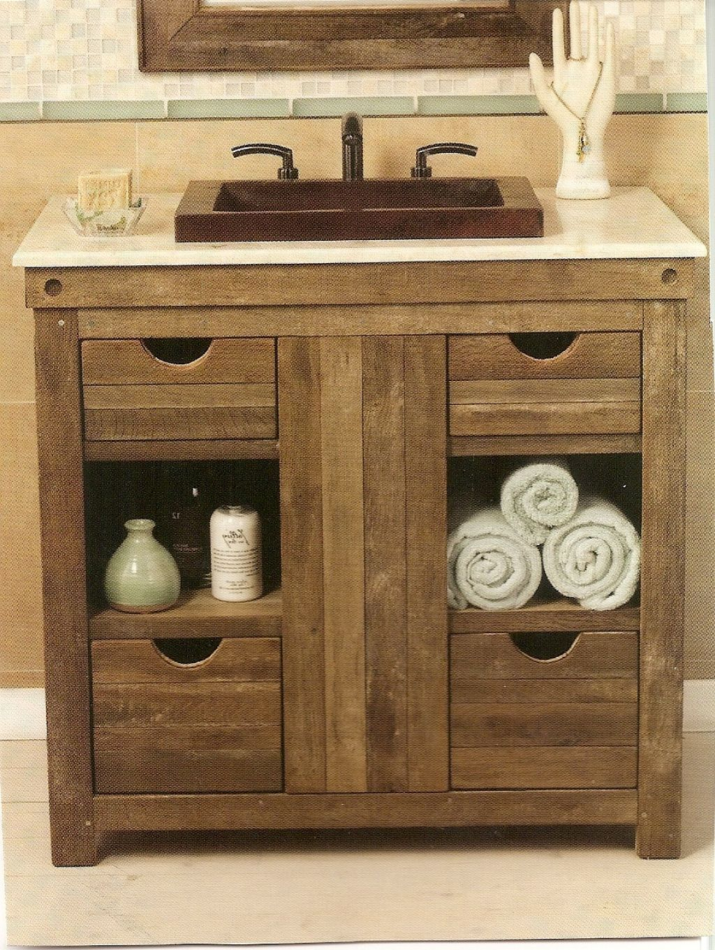 25 Incredible Vanities For Small Bathrooms With Examples Images in dimensions 1024 X 1361