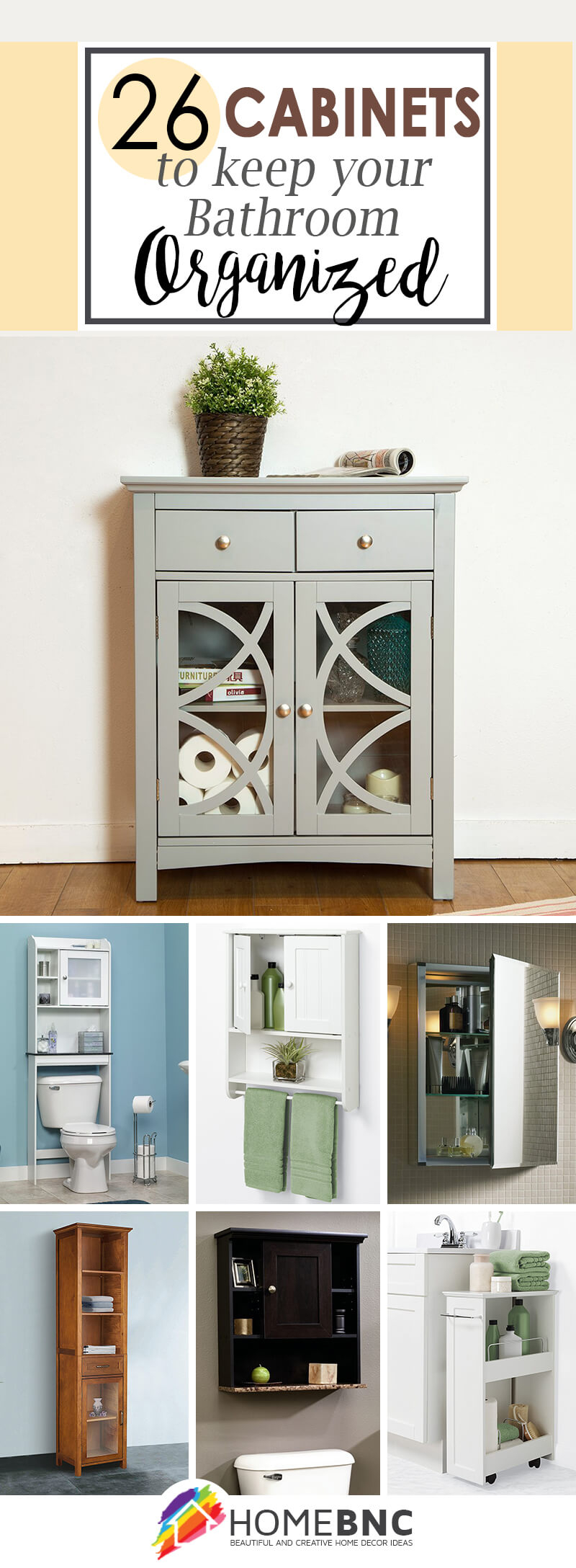 26 Best Bathroom Storage Cabinet Ideas For 2019 with size 800 X 2176