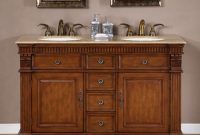 55 Inch Furniture Style Double Sink Bathroom Vanity regarding dimensions 900 X 900