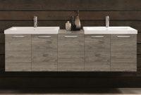Acquaviva 69 Double Modern Bathroom Vanity Set Wayfair intended for proportions 2011 X 2011