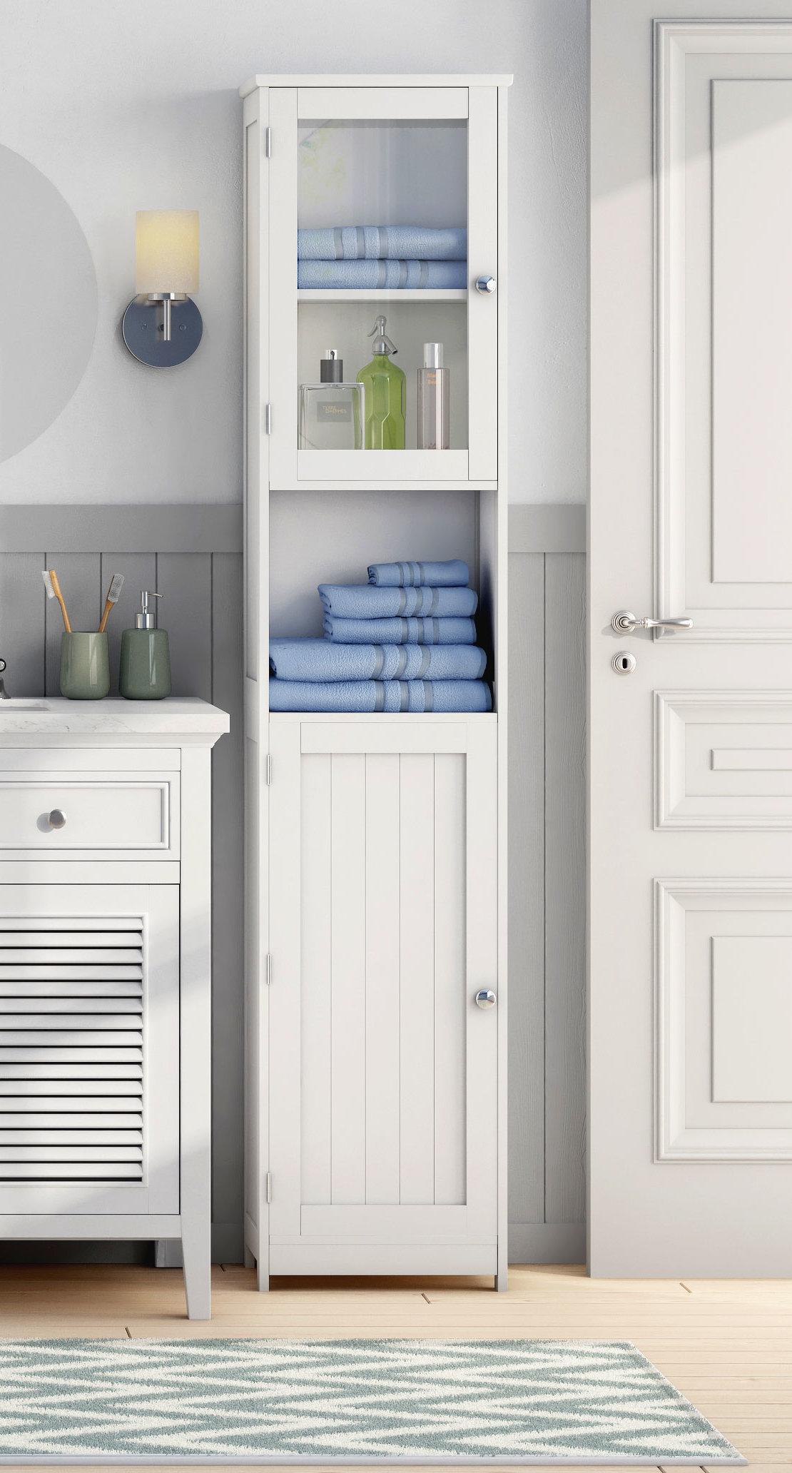 Oak Freestanding Bathroom Furniture