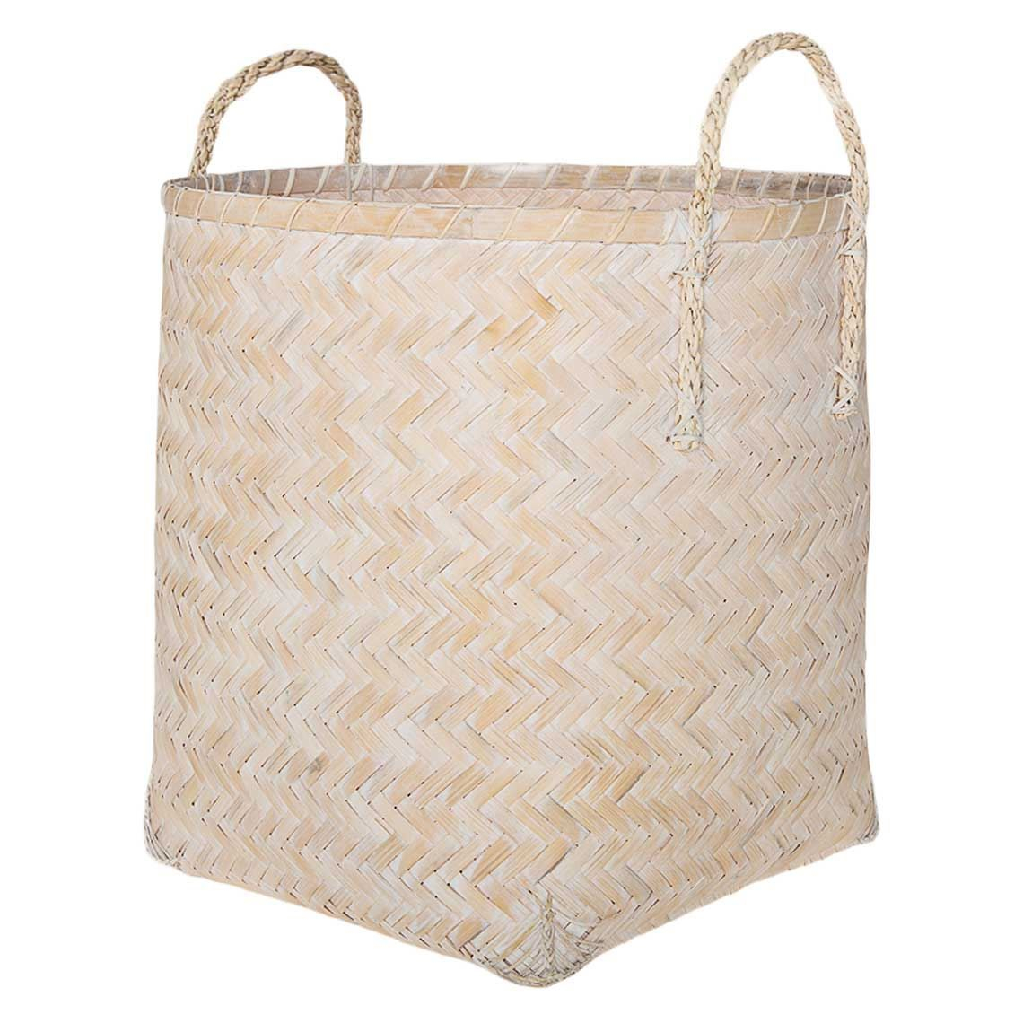 Avondale Storage Basket Whitewash In 2019 Products Storage pertaining to size 1140 X 1140