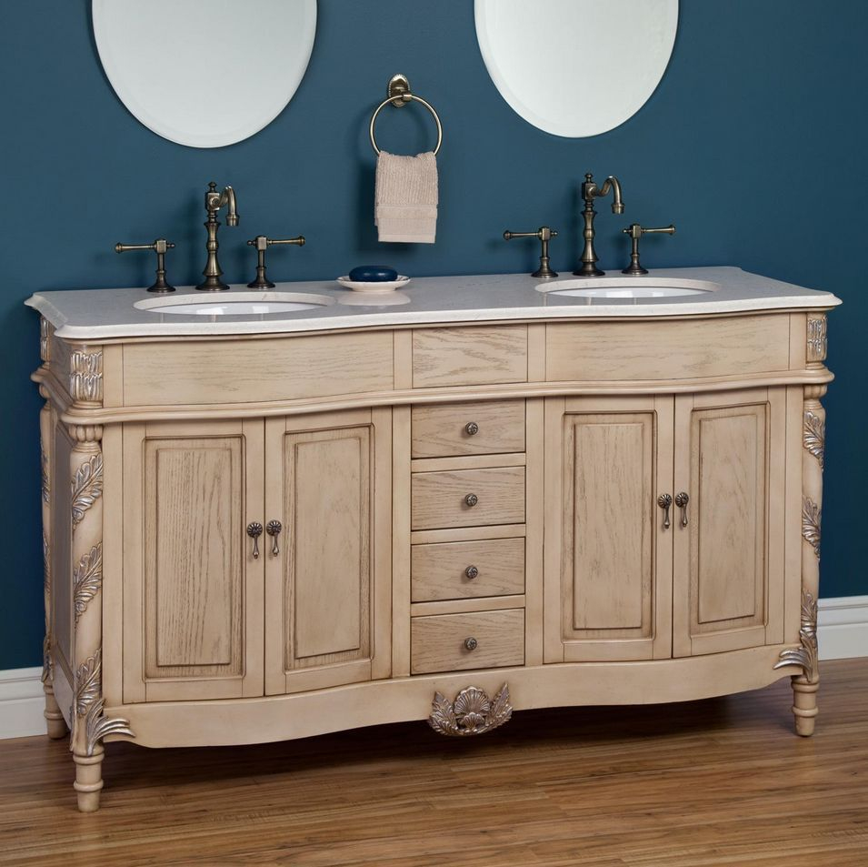 Bathroom Vanities That Look Like Antique Furniture for proportions 955 X 953