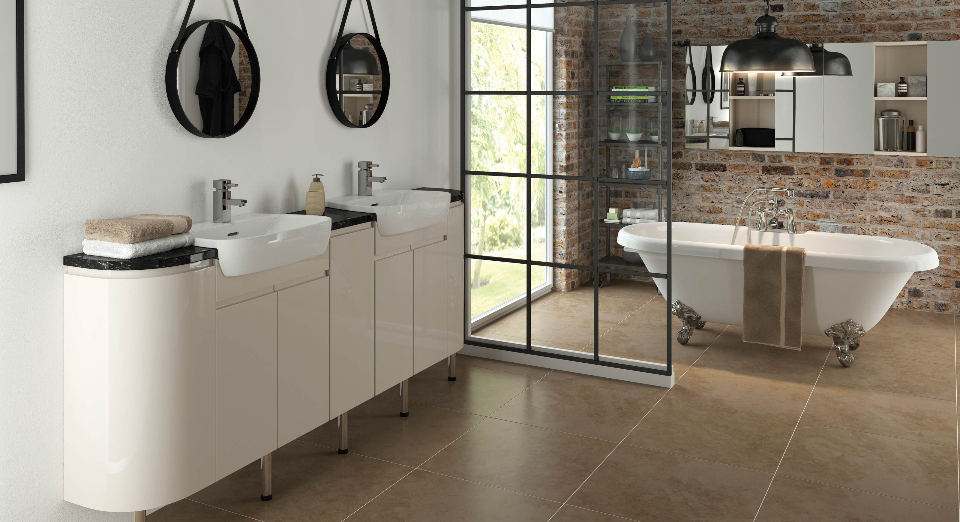 Bathrooms To Love Fresco Contemporary within sizing 3200 X 1740