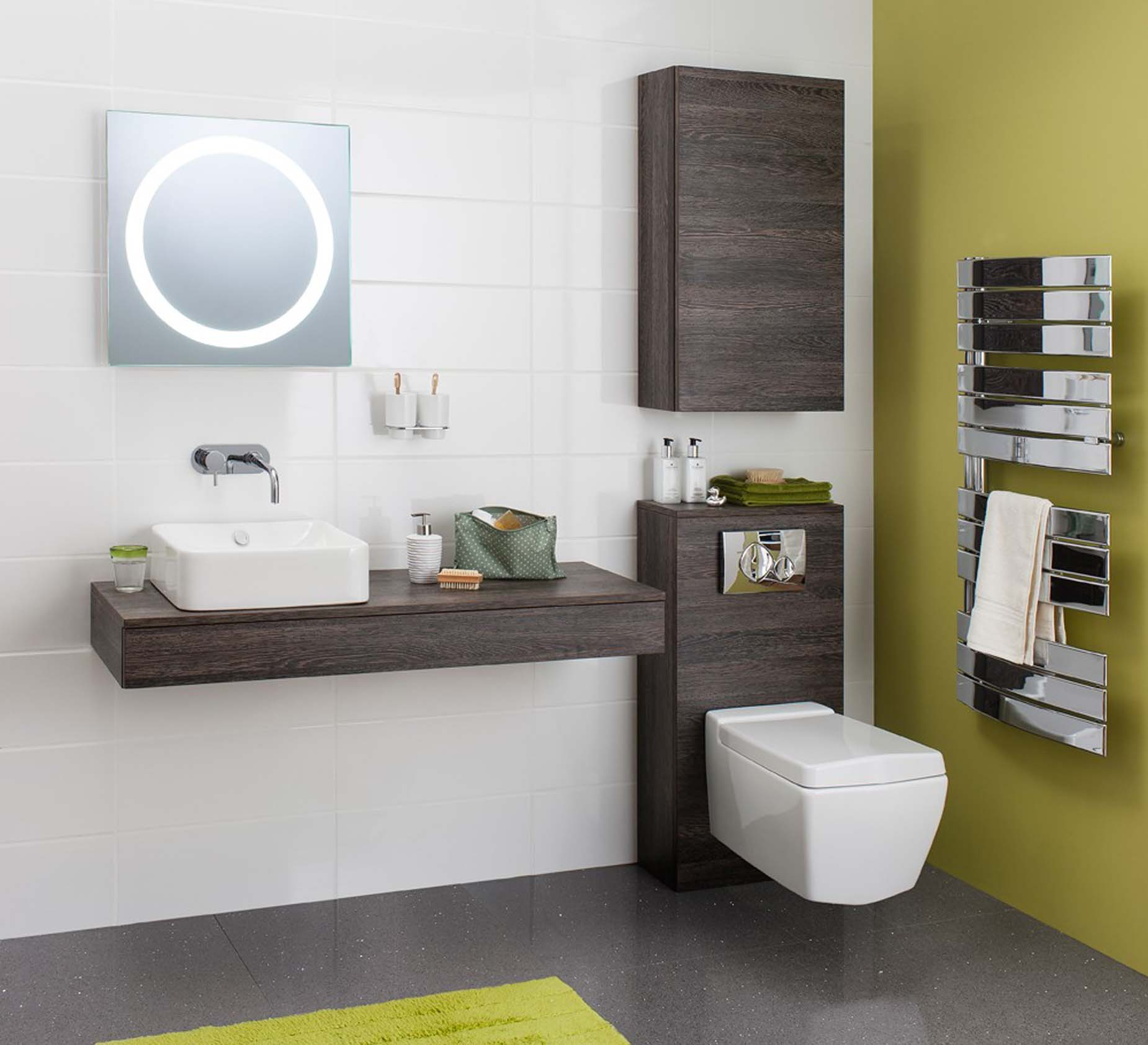 Bauhaus Bathroom Furniture Hyde Park Kitchens And Bathrooms regarding sizing 1850 X 1685