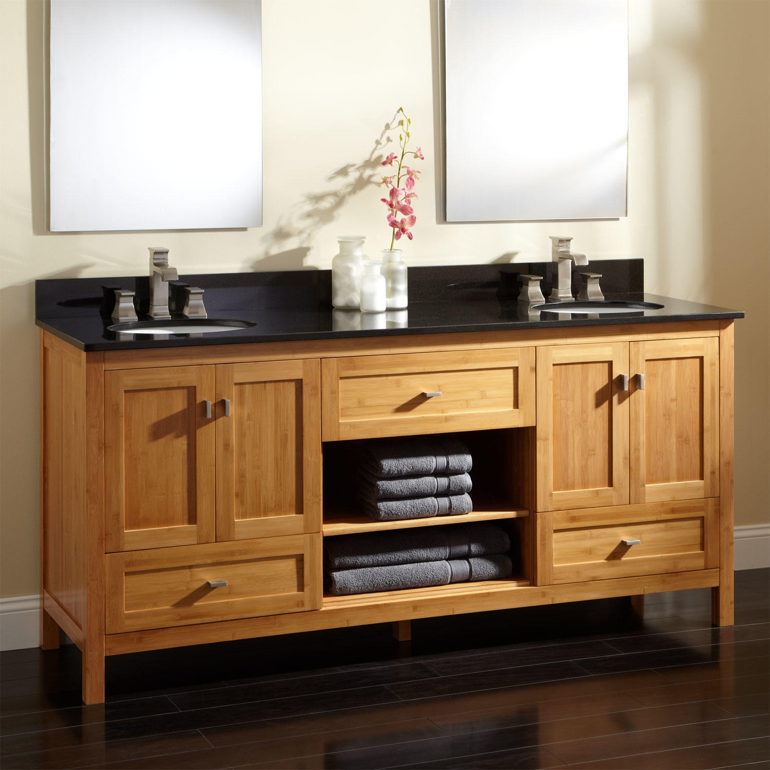 Breathtaking Double Vanity Cabinet Beautiful Bathroom Cabinets Top pertaining to sizing 1500 X 1500