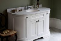 Burlington 134 Curved Vanity Unit With Double Doors Uk Bathrooms throughout sizing 1200 X 1200