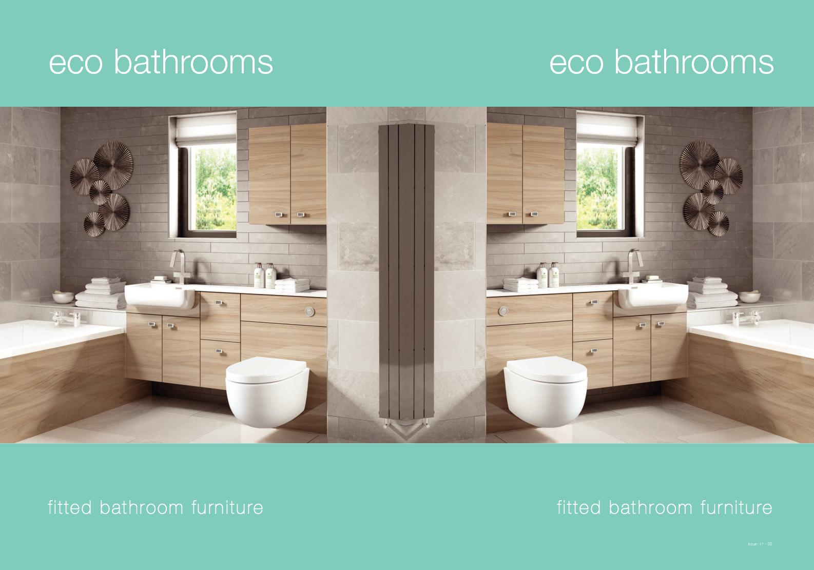 Calamo Eco Bathrooms Fitted Brochure intended for proportions 1586 X 1111