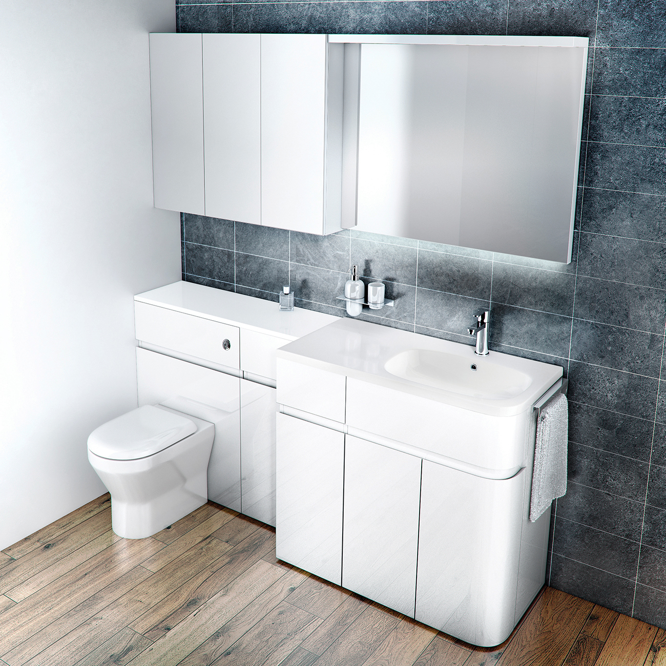 Fitted Bathroom Furniture Units Eo Furniture with dimensions 1300 X 1300