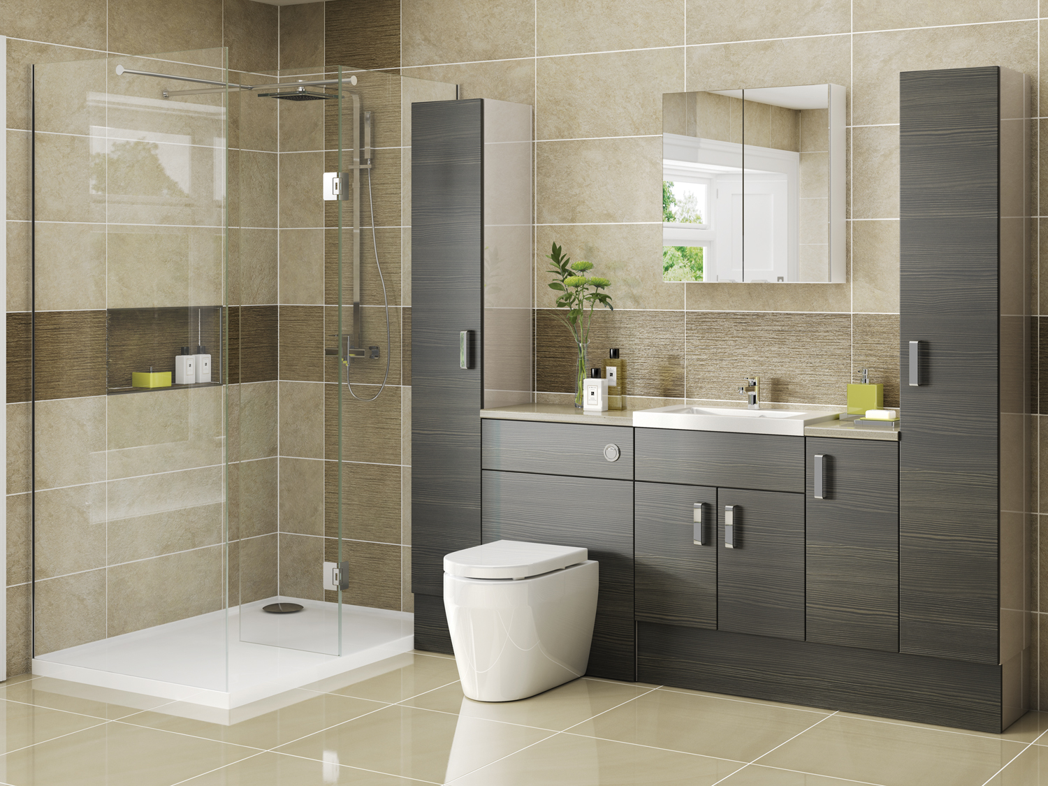 Fitted Eco Bathrooms Porcelanosa Tiles Porcelanosa Bathrooms with size 1500 X 1125