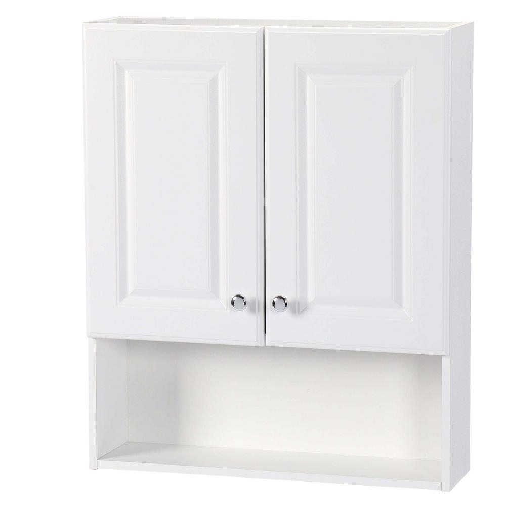 Glacier Bay 23 In W X 28 In H X 6 12 In D Bathroom Storage Wall pertaining to sizing 1000 X 1000