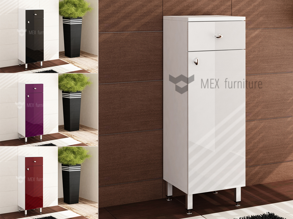 High Gloss Bathroom Furniture Mex Furniture regarding proportions 1024 X 768