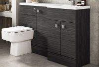 Hudson Reed Fusion Hacienda Black Slimline Storage Furniture Pack 1200mm with size 1000 X 1000