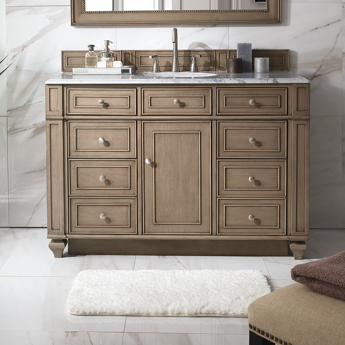 James Martin Furniture Bristol 48 Single Bathroom Vanity Base Only within proportions 1187 X 1187