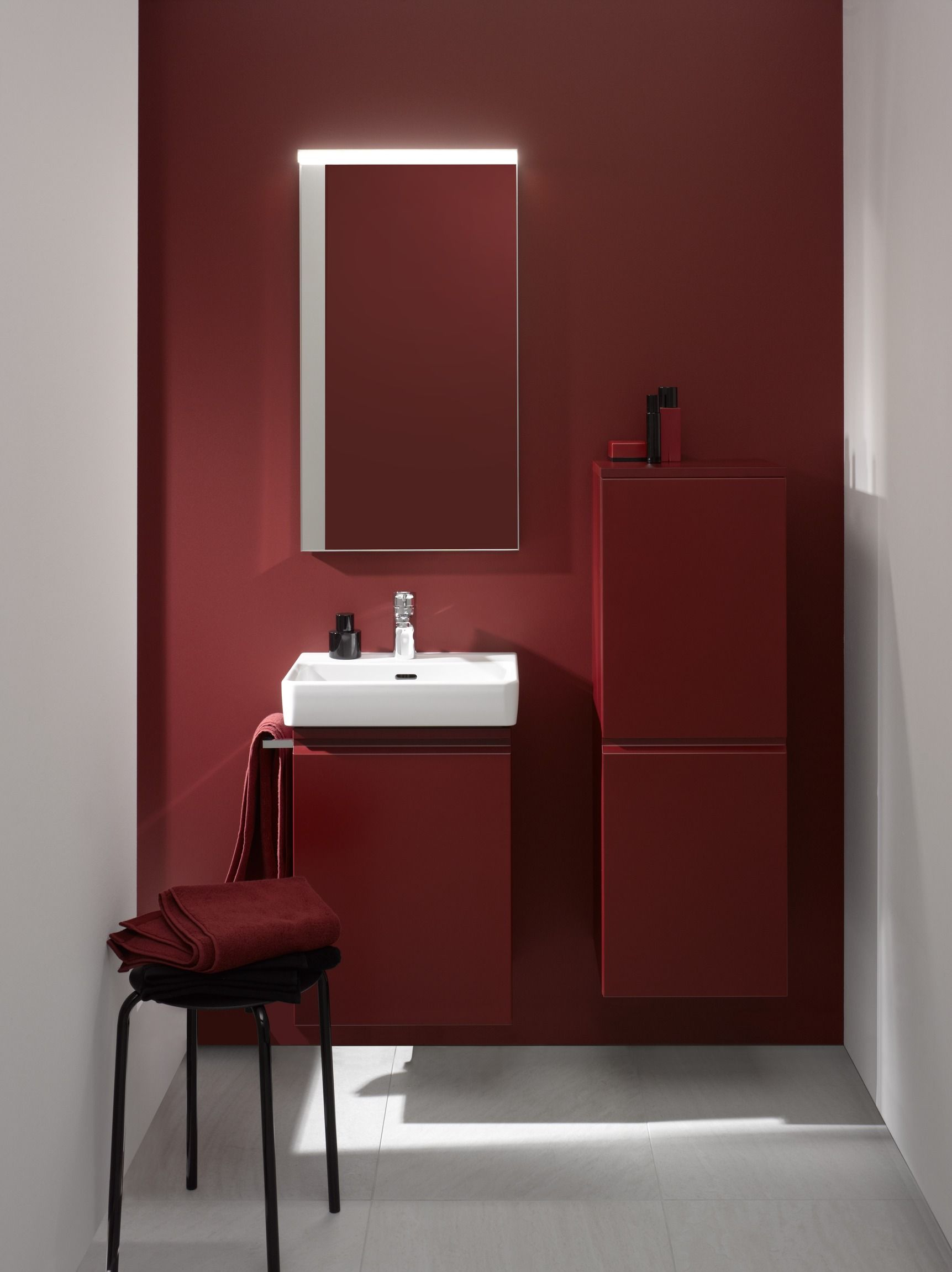 Laufen Pro Laufen Bathrooms Bathroom Red Red Bathroom regarding measurements 1723 X 2302