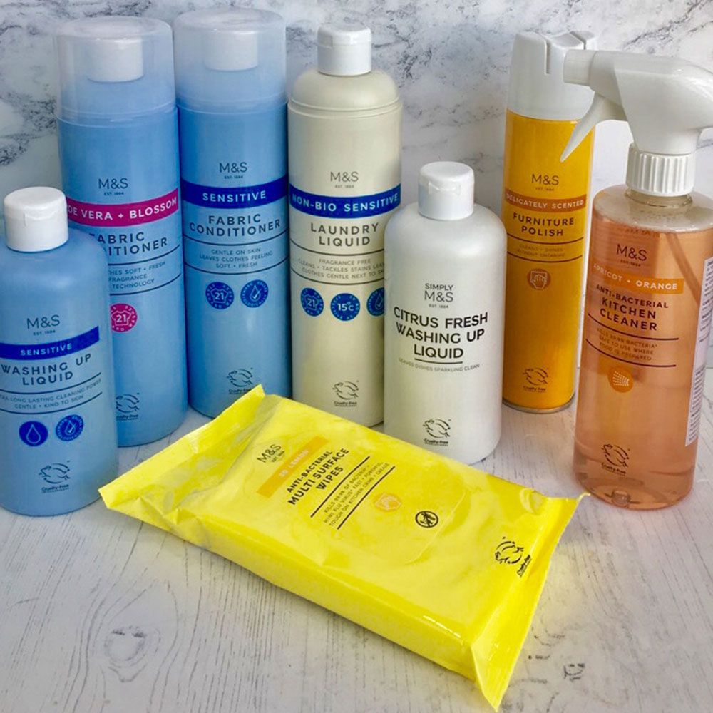 Marks Spencer Launch Affordable Cleaning Range Mrs Hinch Fans Will with regard to sizing 1000 X 1000