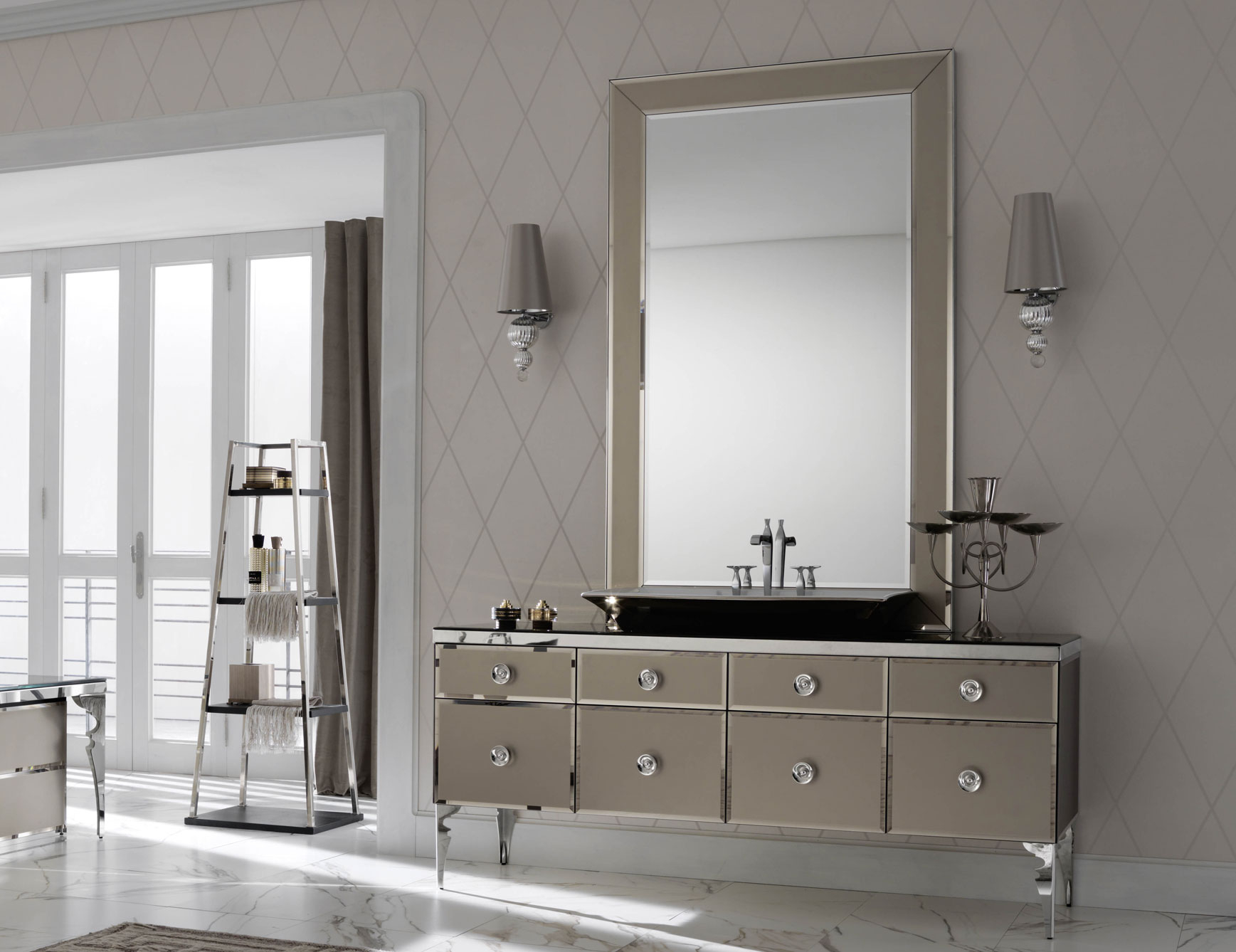 High End Bathroom Furniture Vanities