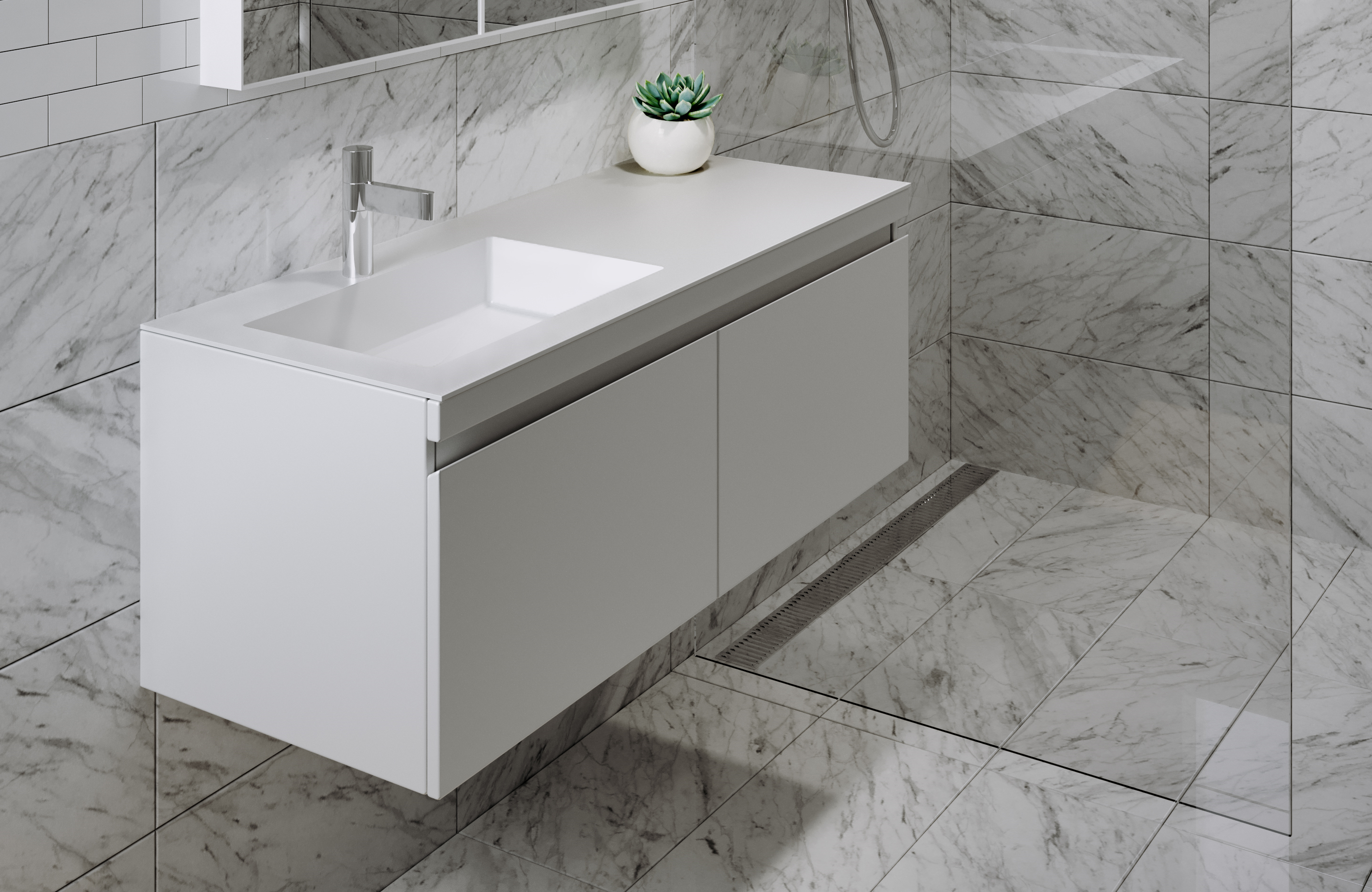 Omvivo Urban 1200 Mk Ii Vanity Luxury Bathroom Furniture Basins with size 2899 X 1885