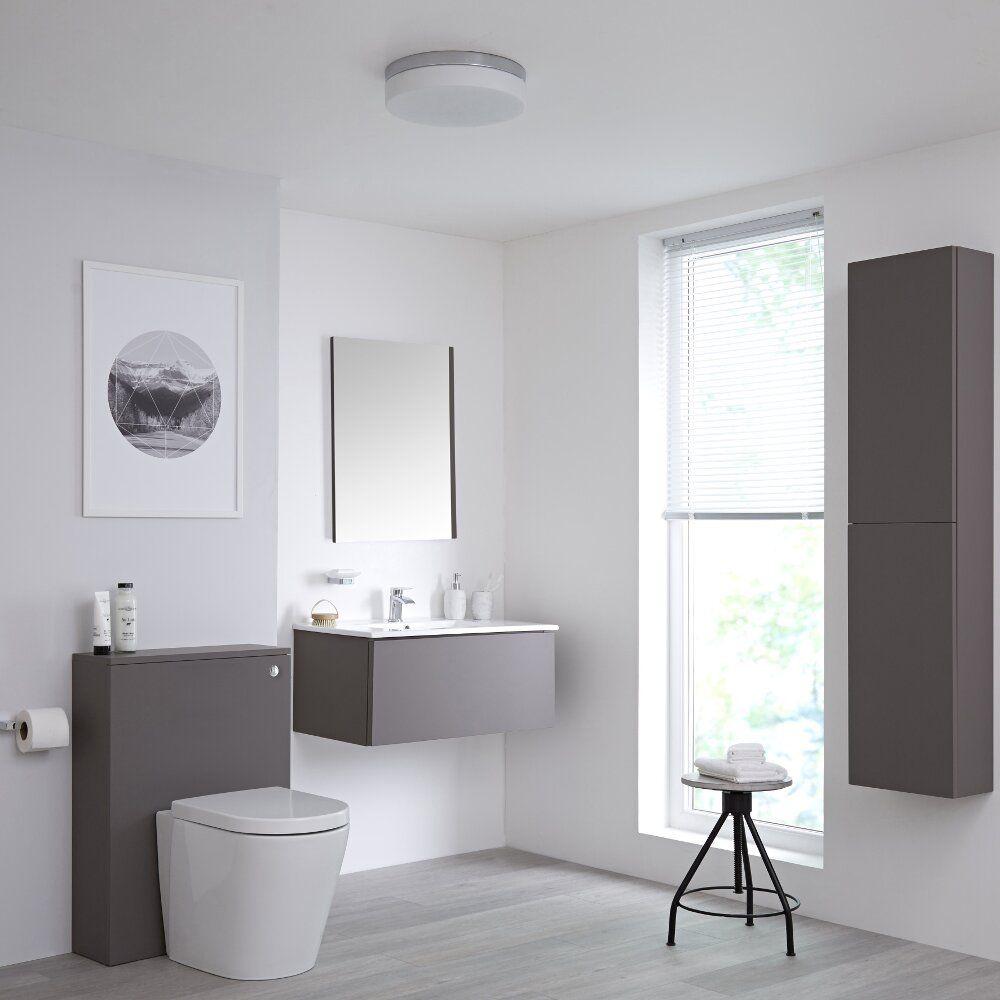 On Trend Grey Bathroom Ideas Bigbathroomshop within proportions 1000 X 1000