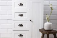 Stow Bathroom Cabinet Storage Cupboard In White Noa Nani pertaining to proportions 1000 X 1000