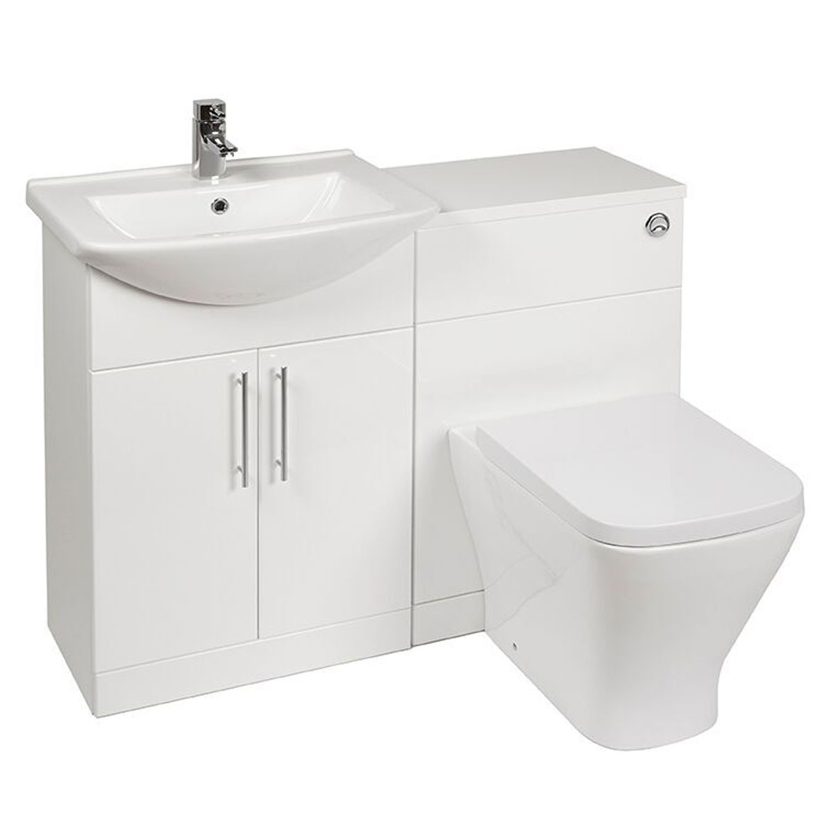 Verona F60s Combination Unit Ve79mf60s 1050mm Gloss White within size 1200 X 1200