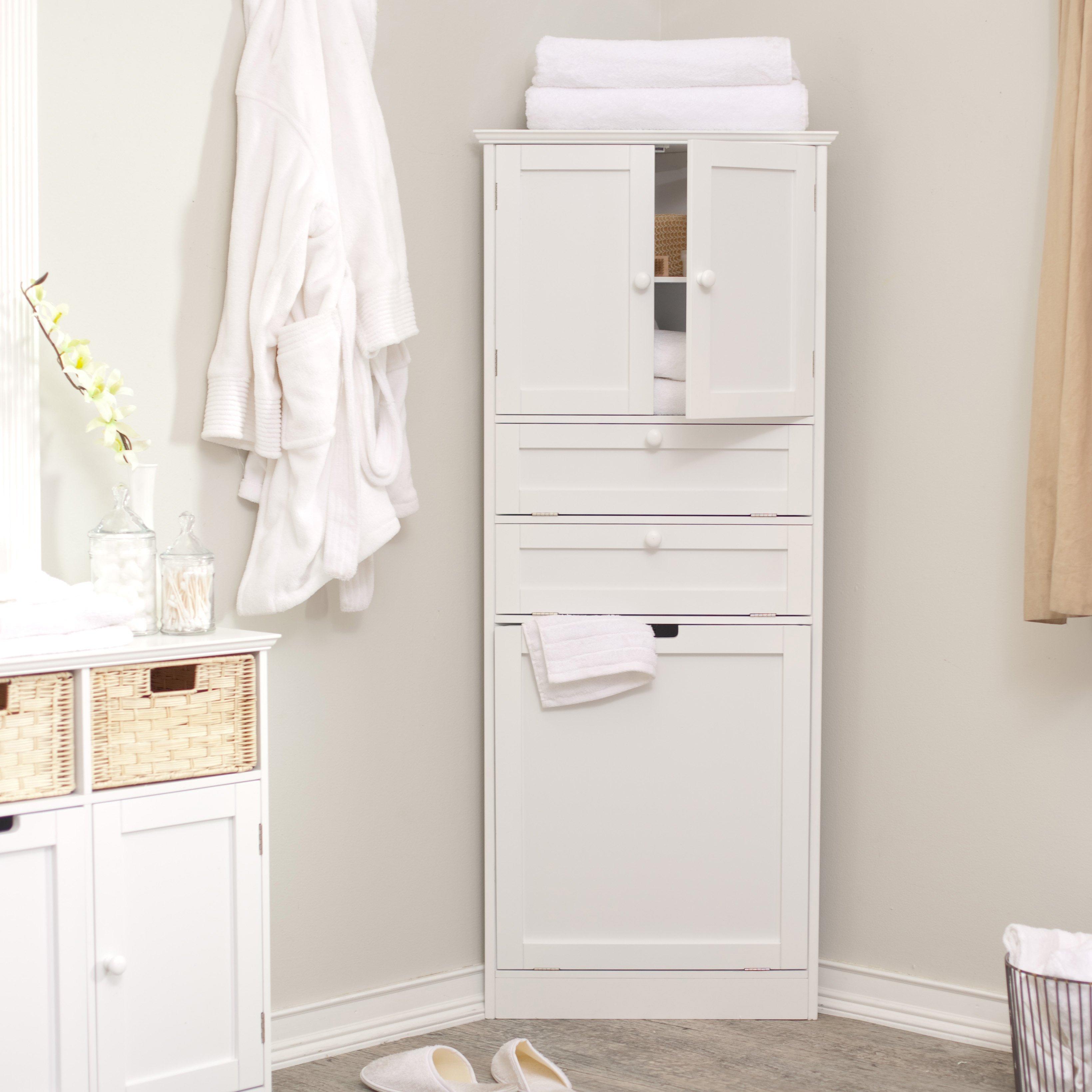 White Corner Bathroom Cabinet Cabinet Ideas in sizing 3279 X 3279