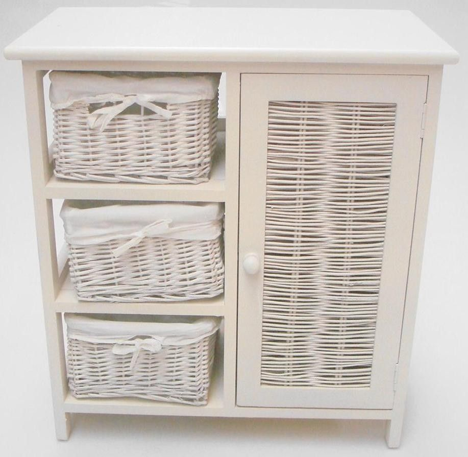 White Wicker Shelves Bathroom House Ideas Wicker Bathroom with regard to measurements 917 X 895