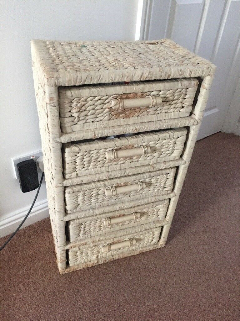Wicker Bathroom Storage Unit In Chandlers Ford Hampshire Gumtree inside size 768 X 1024