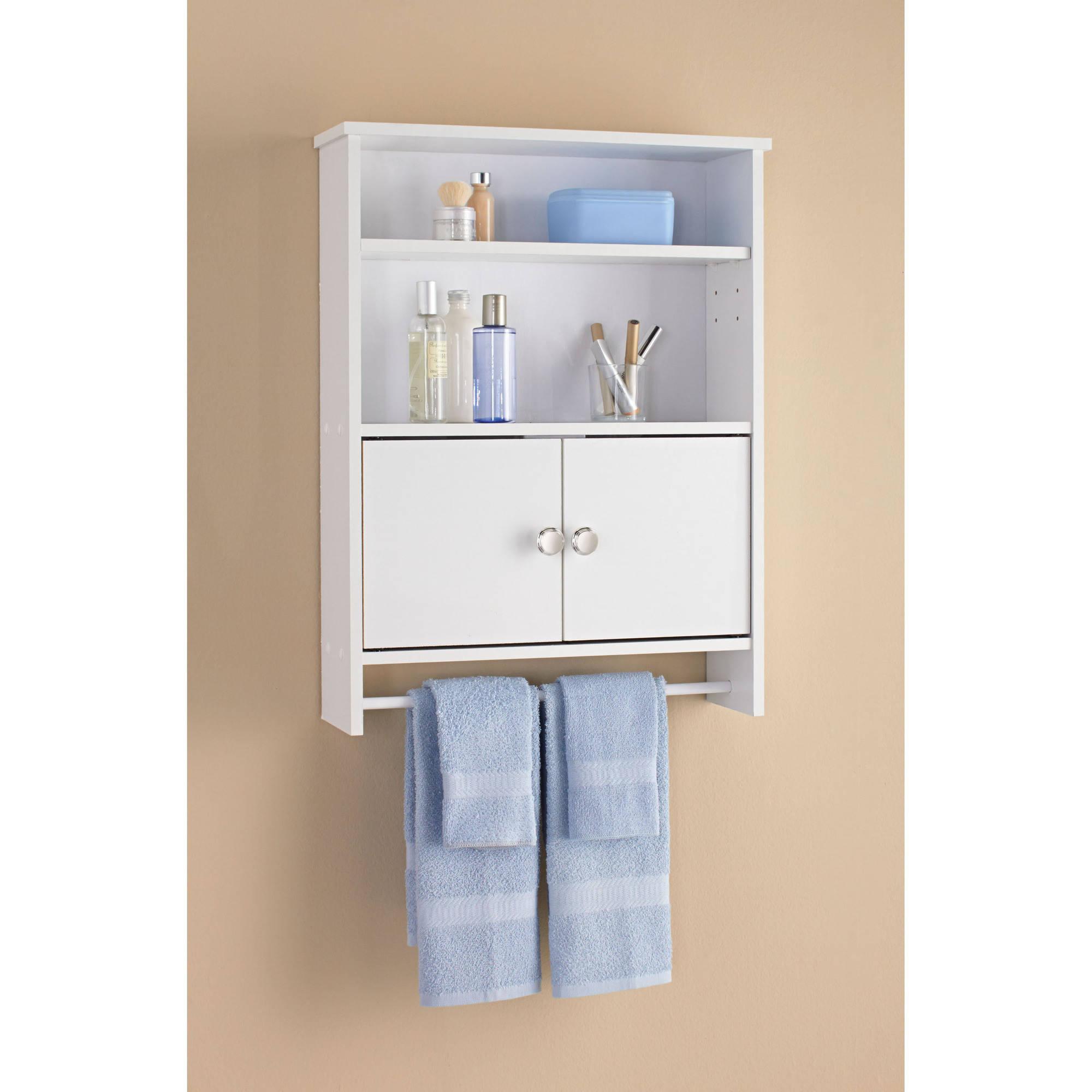 Zenna Home Drop Door Bathroom Spacesaver With 2 Door Cabinet pertaining to size 2000 X 2000