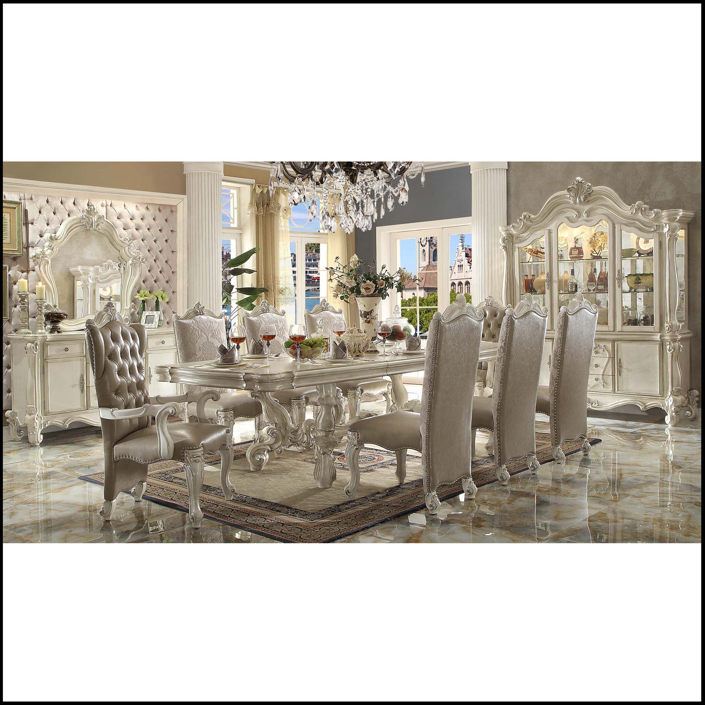 9 Piece Lady Beatrice Dining Room with regard to sizing 2362 X 2362