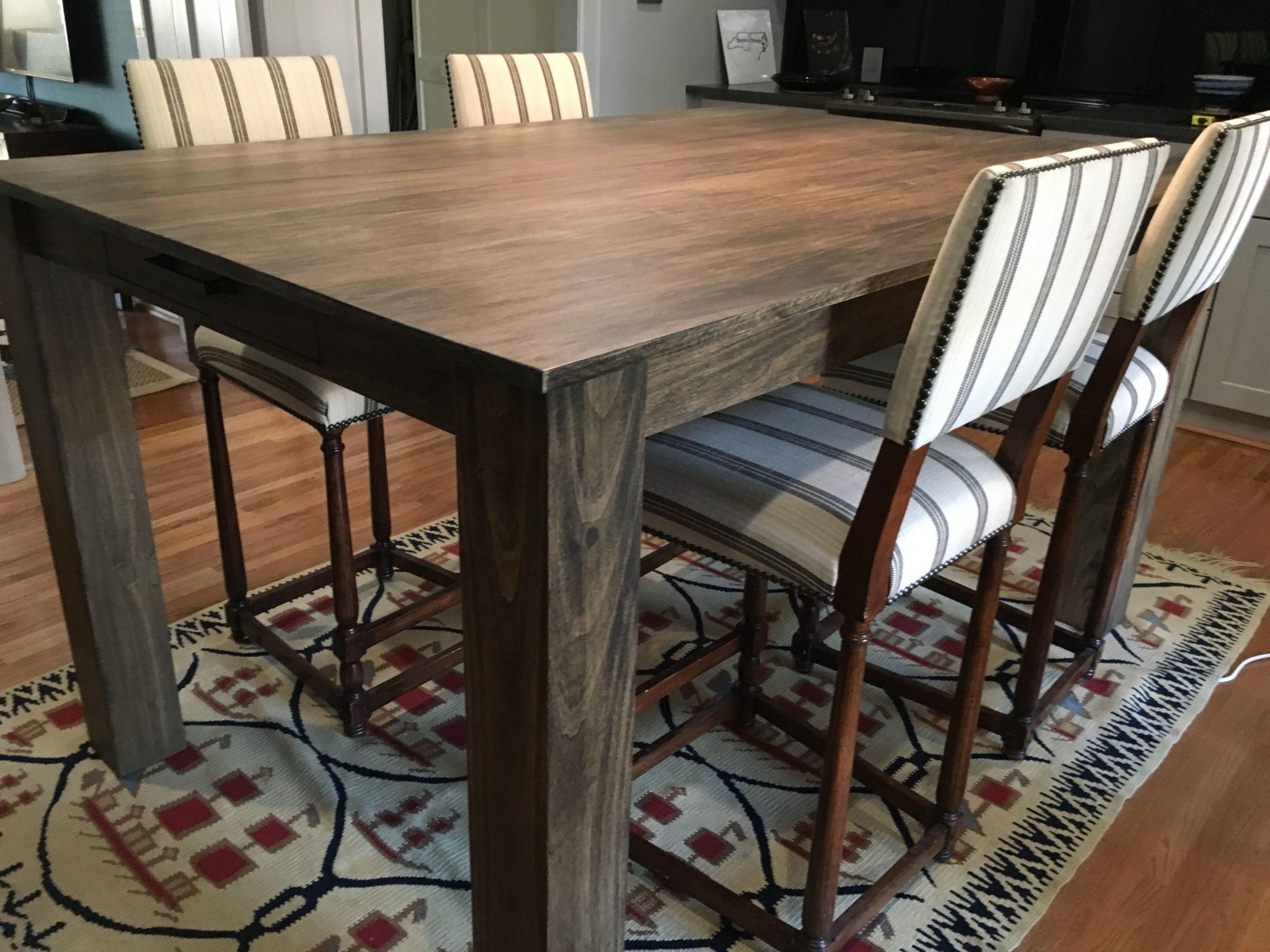 Custom Modern Rustic Dining Table Edwood Art Craft within sizing 4032 X 3024
