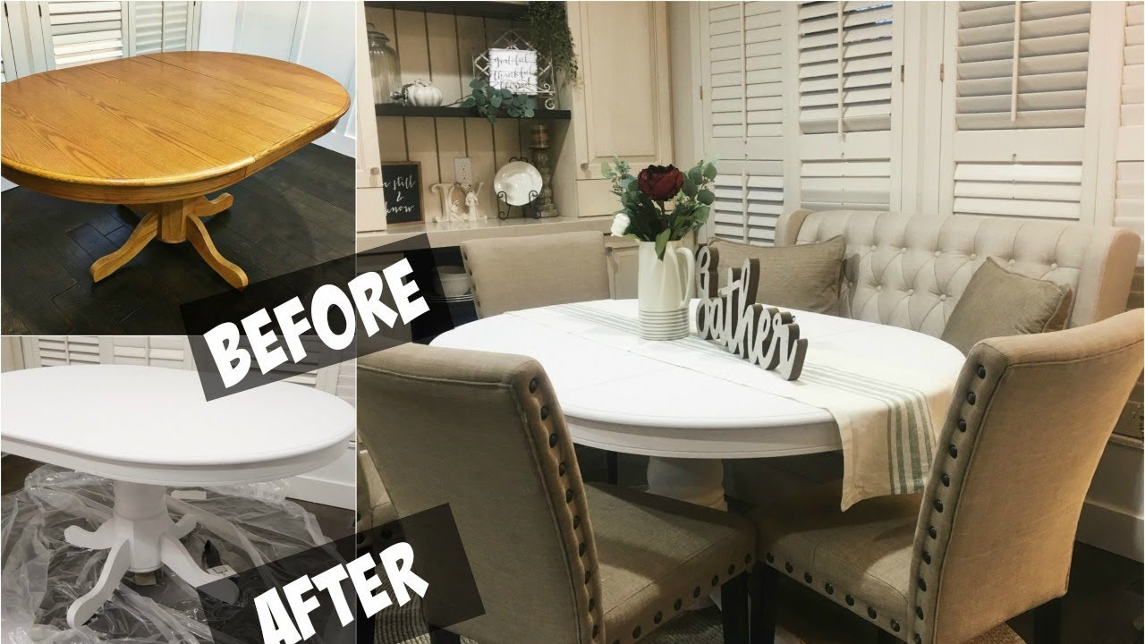 Diy Chalk Paint Dining Room Table inside sizing 1280 X 720