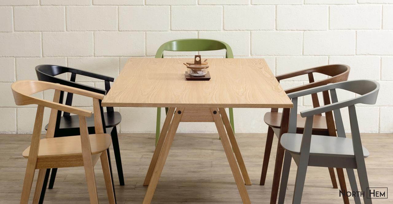 Greta Dining Chair Matte Black North Hem regarding measurements 1280 X 664