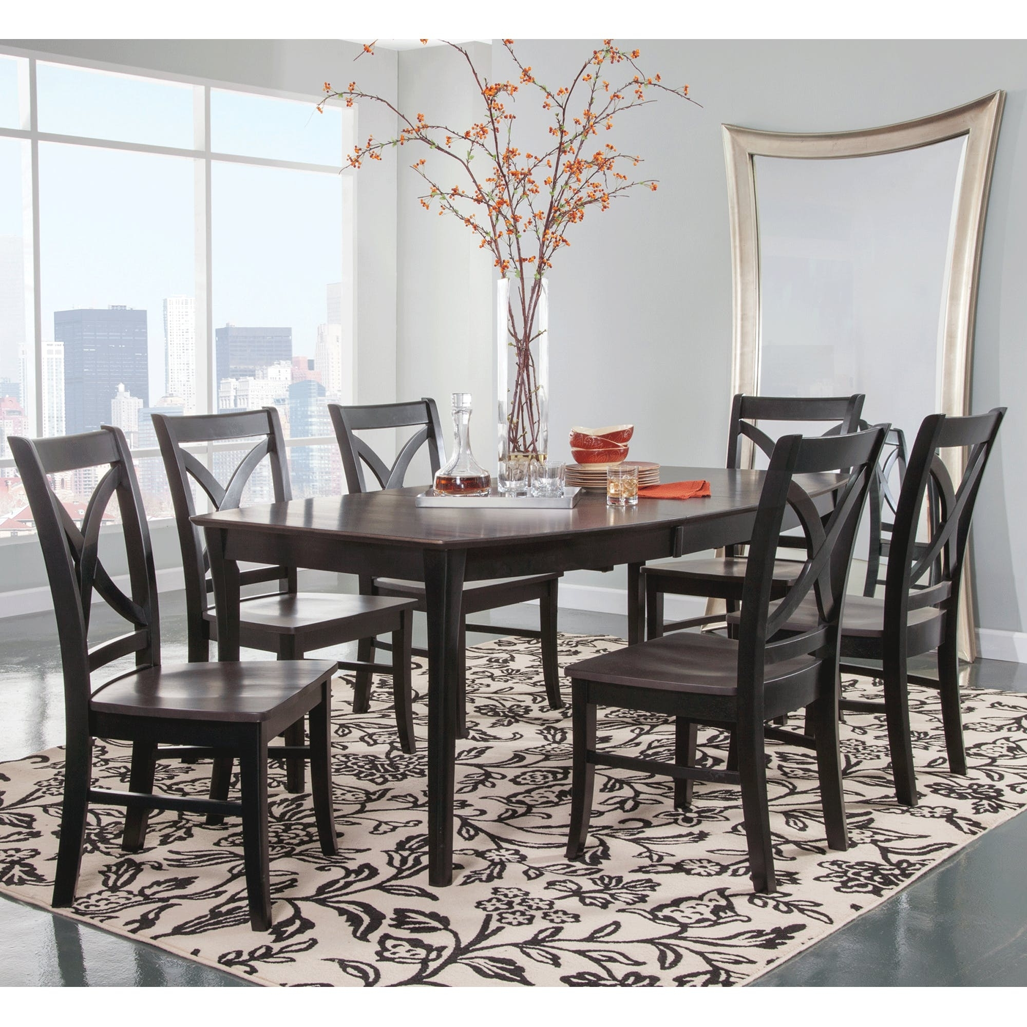 High Decorative Black Dining Room Sets Alanlegum Home Design inside dimensions 2000 X 2000