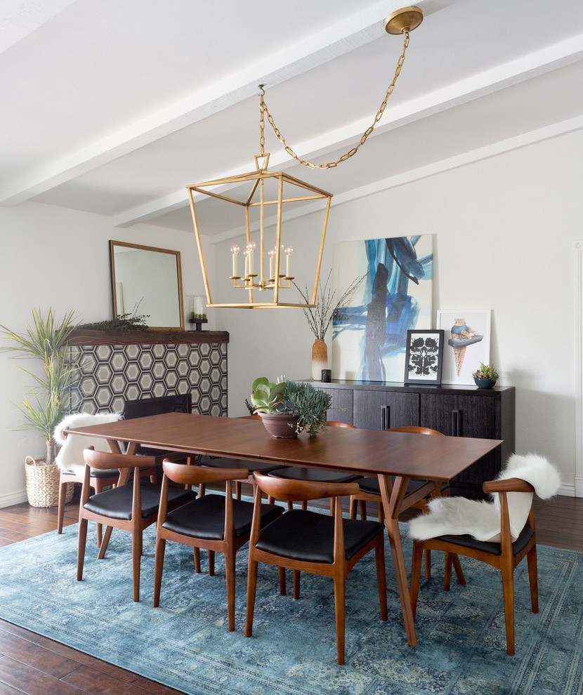 Los Angeles Blue Dining Room Chairs Contemporary With Bamboo inside sizing 830 X 990