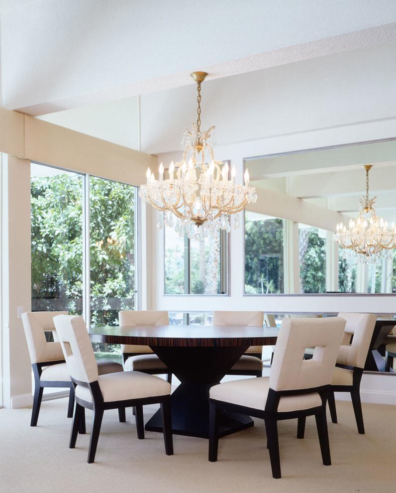 Miscellaneous Contemporary Dining Room Los Angeles regarding dimensions 796 X 990
