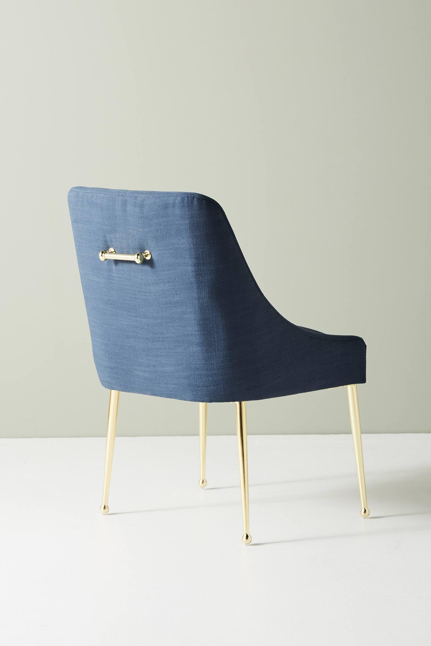 Montauk Performance Linen Elowen Dining Chair Dining in size 1450 X 2175