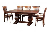 Morgan Trestle Table Fannys Furniture Kelowna Bc intended for sizing 922 X 922