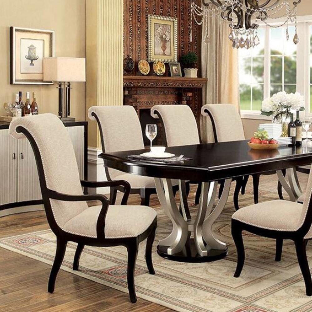 Ornette Transitional Dining Table regarding size 1000 X 1000