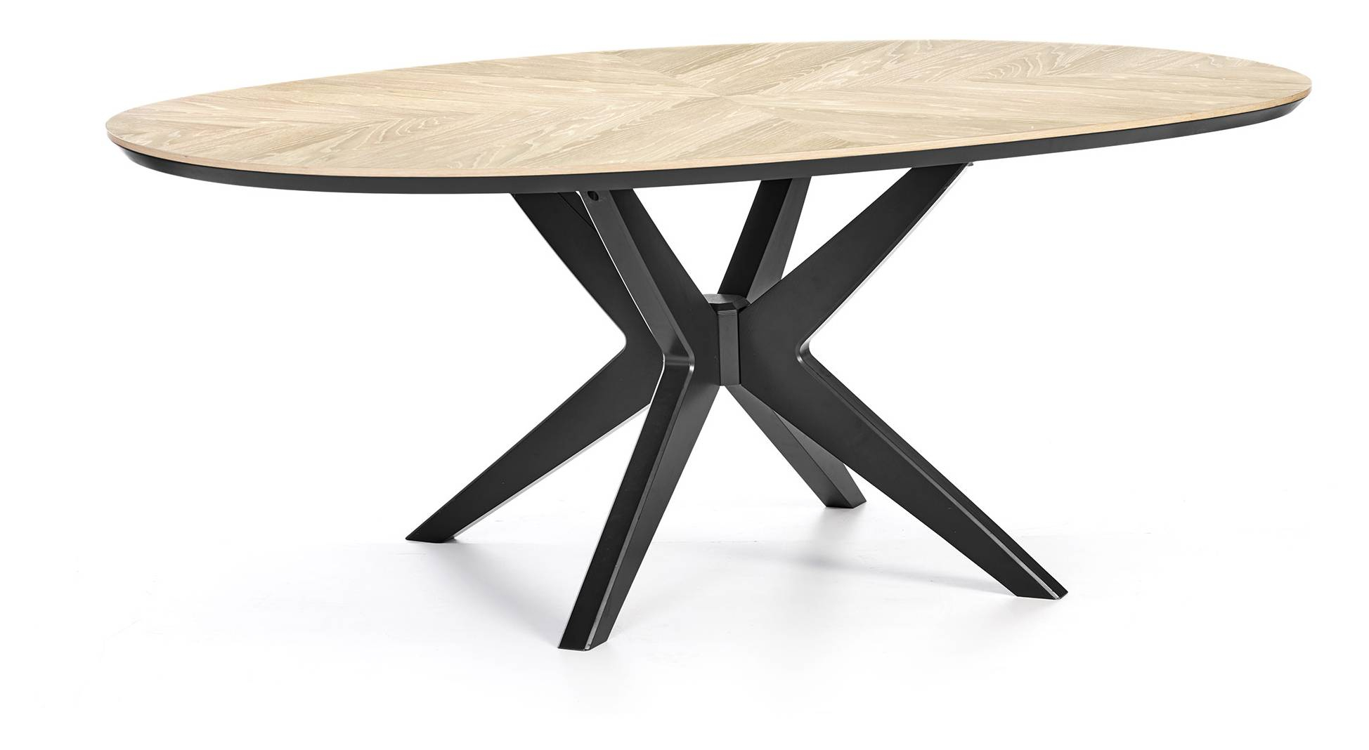 Quebec Elliptical Dining Table pertaining to measurements 1948 X 1068