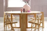 Rubberwood Butterfly Table With 4 Chairs Dunelm Folding throughout sizing 1389 X 1389